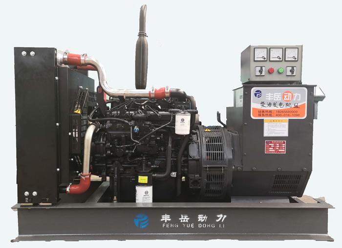 潍柴30千瓦小型发电机组